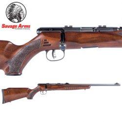 Savage B22 22LR G Blued Wood – 10 Shot.