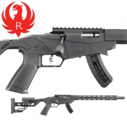 Ruger 22LR Precision Rimfire Rifle – Pinned.