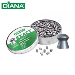 Diana Exact .177 Air Rifle Pellets – 500 Pack.