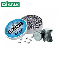 Diana Sport .177 Air Rifle Pellets – 500 Pack.