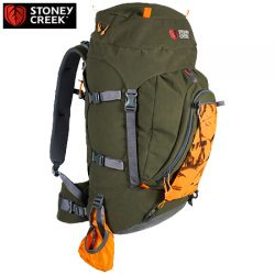 Stoney Creek Mohaka 40 Litre +10 Litre Pack – Bayleaf & Camo.