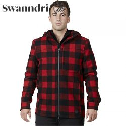 Swanndri Men's Hudson Wool Hoody.