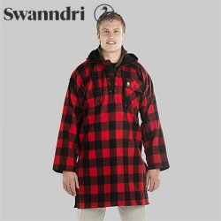 Swanndri Men's Original Wool Bushshirt With Lace-Up Front