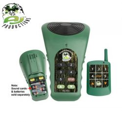 AJ Productions Universal Game Caller Deluxe With Remote Controller Green.