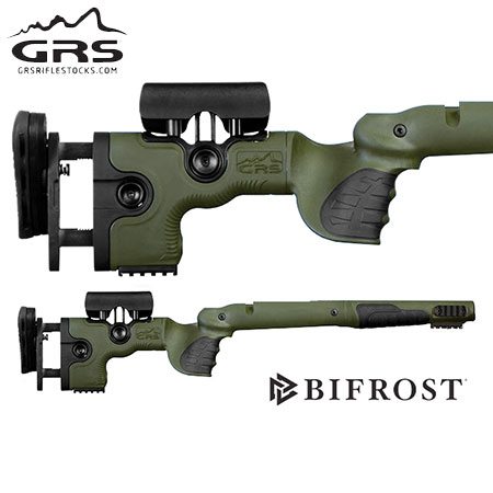 GRS Bifrost Rifle Stock - Savage 110, 112 LA Green.