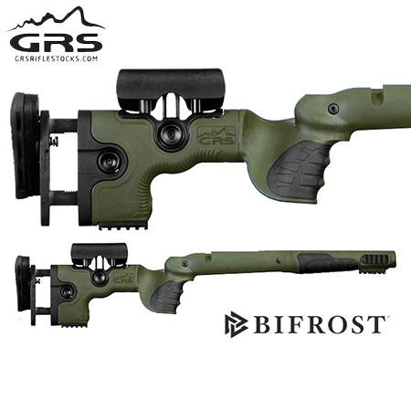 GRS Bifrost Rifle Stock - Savage 10, 12 SA Green.