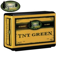 Speer 224 30GR TNT Green (Hornet) Projectiles.