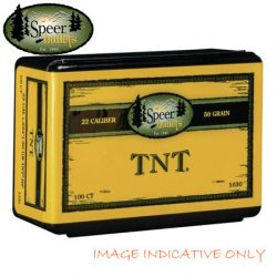 Speer 224 50GR HP TNT Varmint Projectiles.