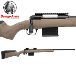 Savage Model 110 Tactical Desert Centrefire Rifle.