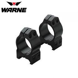 Warne 200M 1″ Fixed Low Matte Rings.