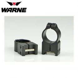 Warne 203M 1″ Fixed Extra High Matte Rings.