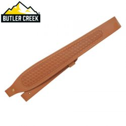 Butler Creek Cobra Leather Basket-Weave Sling.