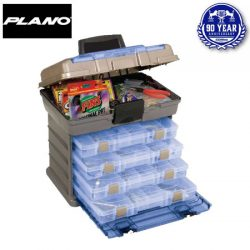 JM Gillies 90th Anniversary Limited Edition Plano 4 By Rack System Tackle Box.