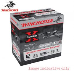 Winchester Super X Steel 12G 3 2-3/4″ 34gm.