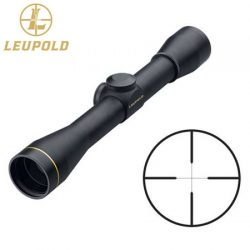 Leupold FX-II 4×33 Wide Duplex Rifle Scope.