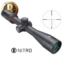 Bushnell Nitro Hunting Scope 3-12×44 30mm FFP Deploy MOA.