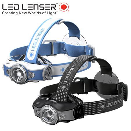 Ledlenser MH11 Smart Headlamp Grey and Blue