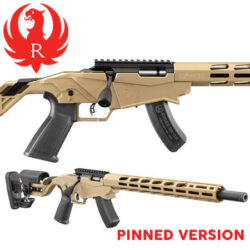 Ruger 22LR Precision Flat Dark Earth Rifle – Pinned.