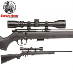 Savage 93 22 WMR F Blued Synthetic Package.
