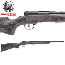 Savage BMAG 17 WSM Blued Varmint Beavertail Rifle.