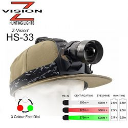 Z-Vision 3 In 1 Head Set Torch