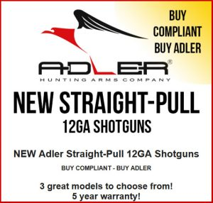 New Adler Straight Pull Shotguns.