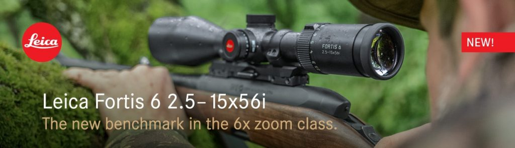 Leica Fortis 6 Rifle Scope.
