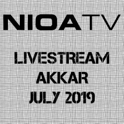 NIOA TV ~ Livestream – Akkar July 2019.