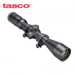 Tasco Sportsman 3-9×40 Truplex Rifle Scope With Weaver Rings.