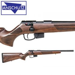 Anschutz 1761 DHB Classic Heavy Barrel 17HMR Rifle.