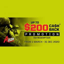 Savage A22MRPV & A17RPV Cash Back Promotion.