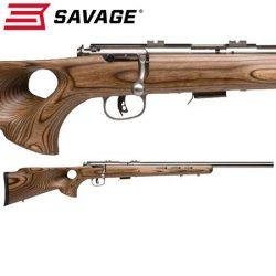 Savage MK II 22LR Laminated Stainless Thumbhole Varmint.