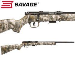 Savage MK II 22LR Blued Camo.