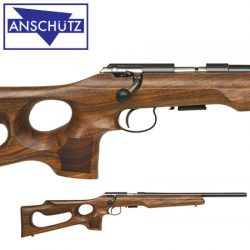 Anschutz 1416 DHB Thumbhole Threaded 22LR Rifle.