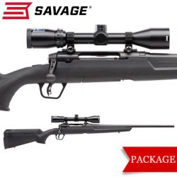 Savage Axis II XP Blued Package.