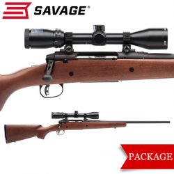 Savage Axis II Hardwood Package.