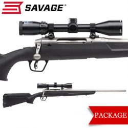 Savage Axis II XP Stainless Package.