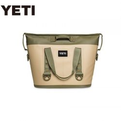 Yeti Hopper 30 Soft Cooler – Field Tan/Blaze Orange.