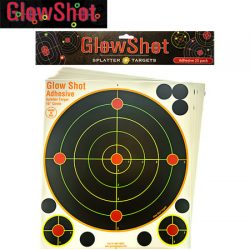 Glow Shot 10″ Targets – 25 Pack.
