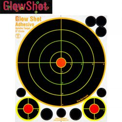 Glow Shot 8″ Targets – 25 Pack.