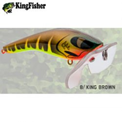 Kingfisher Mantis 120mm Paddler Lure.