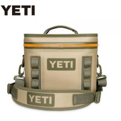 Yeti Hopper Flip 8 – Field Tan/Blaze Orange.