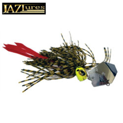 Jaz 1/4oz Party Grub Chatterbait.