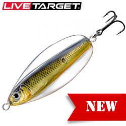 LiveTarget 55mm 3/8oz 55mm Erratic Shiner Lure.