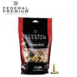 Federal Unprimed Brass 223 Rem.