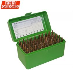 MTM Case-Gard 50 RD Hinged Ammo Box 22-2506M.