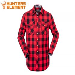 Hunters Element Huxley Shirt Red Plaid.