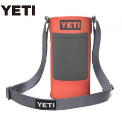 Yeti Large Coral Bottle Sling.