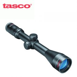 Tasco Rimfire 3-9×40 Truplex With Weaver Rings.