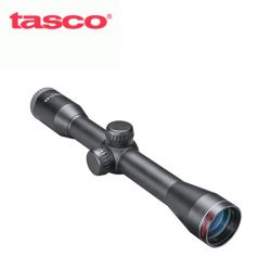 Tasco Rimfire 4×32 Truplex With Weaver Rings.